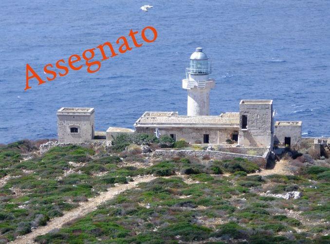 Assegnato Faro di Capo Grosso