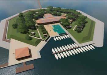 Isola di San Secondo con piscina, biciclette e impianti green – Cronaca – La Nuova di Venezia