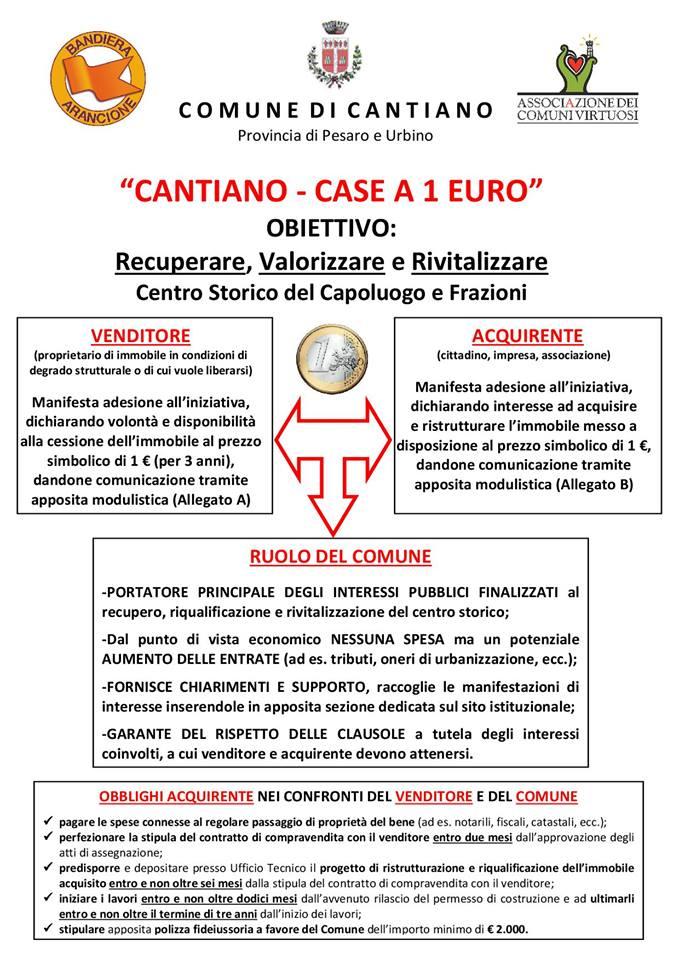 f90db0773a Cantiano - Pesaro Urbino - Marche - Case a 1 euro