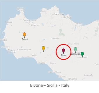 Cartina Sicilia Termini Imerese.Bivona Mappa Case A 1 Euro